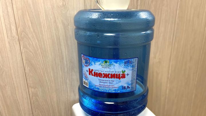 Пить воду — полезная привычка: северянам привезут «Кнежицу» с доставкой на дом
