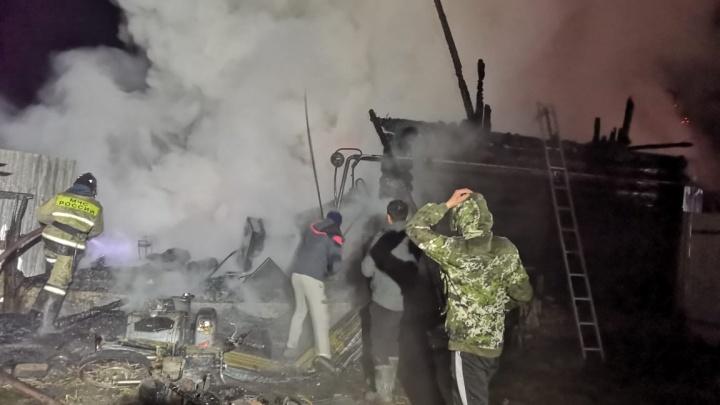 При пожаре в доме милосердия в Башкирии погибли 11 человек
