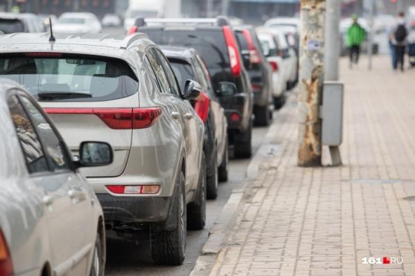 С 30 марта по 3 июля оплата парковки в центре города не взималась