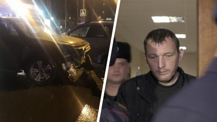 Виктора Пильганова, обвиняемого в смертельном ДТП с детьми, оставили в СИЗО ещё на полгода