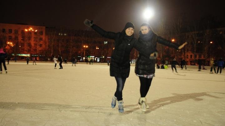 Карта катков Екатеринбурга: где покататься на коньках в 2020 году и сколько это стоит