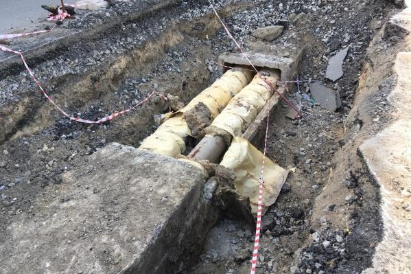 Часть сетей не прошла гидравлические испытания еще на первом этапе отключения горячей воды
