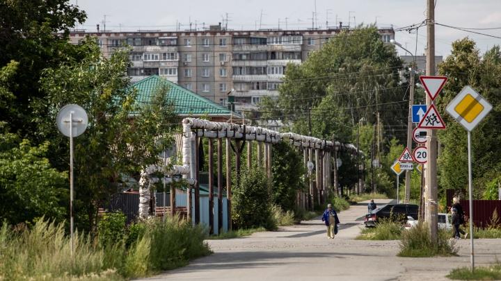 Челябинский посёлок в холода на неделю остался без горячей воды
