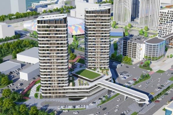 Новый переход построят рядом с МВДЦ «Сибирь»
