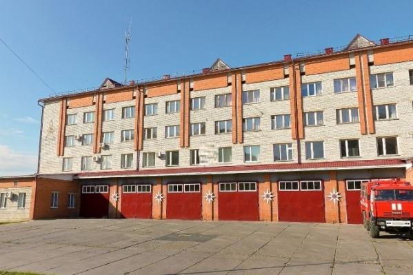 Инцидент произошел в пожарной части на Таллинской