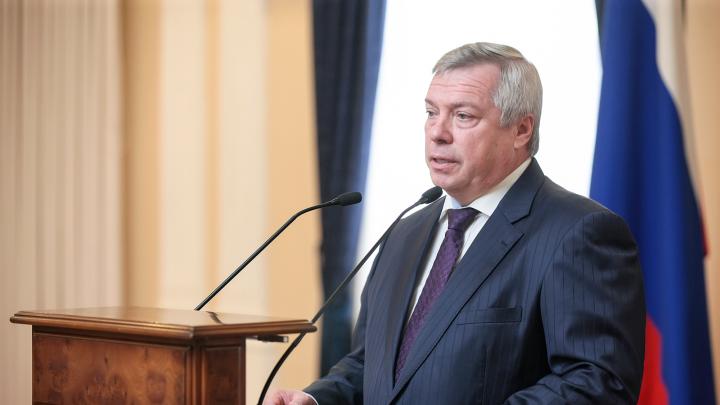 Василий Голубев рассказал, когда в Ростовской области могут ввести режим ЧС
