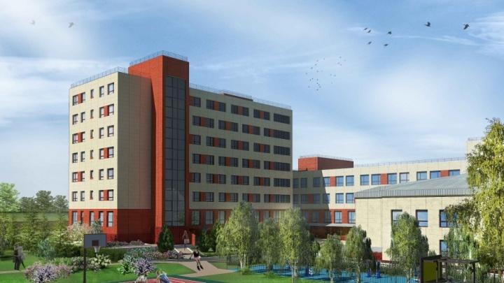 На бульваре Строителей реконструируют корпус КемГУ. На это уйдет больше 580 млн рублей
