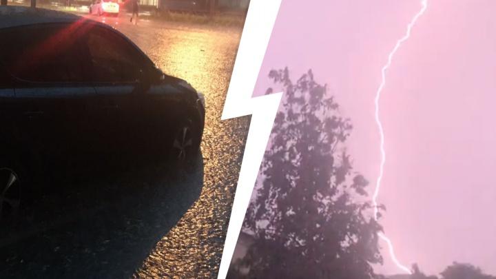 В Ярославле из-за грозы случился потоп: собираем фото и видео в режиме онлайн