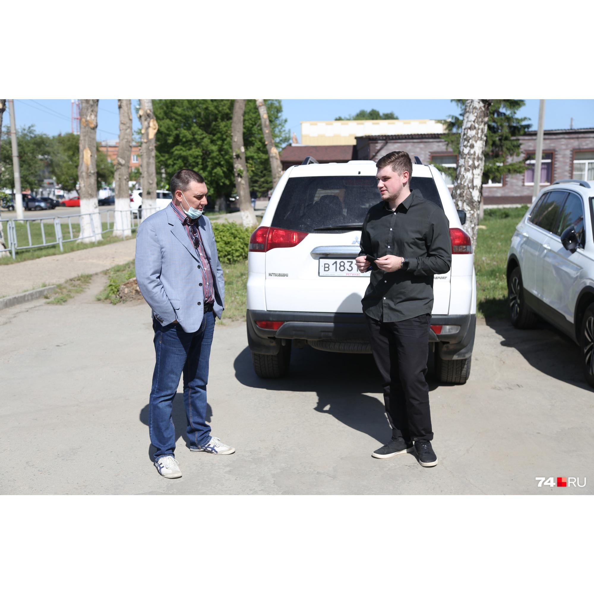 Сын Анатолия (слева на фото) был за рулём«Лады», которая столкнулась сLexus бизнесмена, а Владислав (справа) сидел в той же машине на переднем сиденье