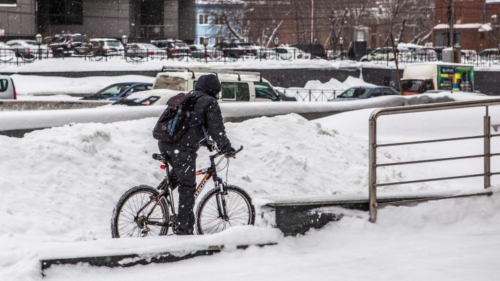 Прошедшая зима в Новосибирске вошла в топ-5 самых снежных и тёплых за полвека