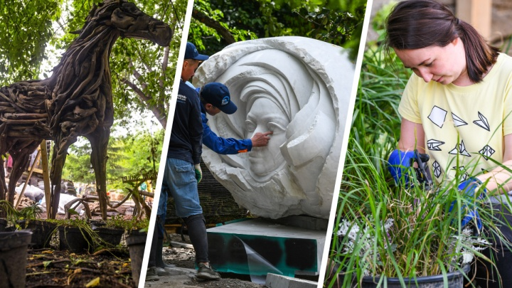 В Екатеринбурге стартует фестиваль, на котором покажут скульптуры из деревьев и покатают на воздушном шаре