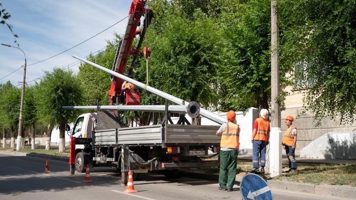 В Волгограде объявили о массовом отключении света в пяти районах