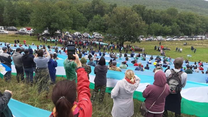 «Куштау, живи!»: на защиту шихана под Стерлитамаком приехали более 1000 человек