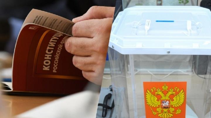 Свердловское правительство начало зазывать людей на голосование по поправкам в Конституцию