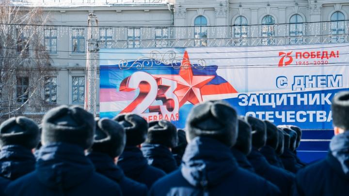 Дисциплина, строевая песня и начищенные ботинки: как прошёл военный парад в Омске