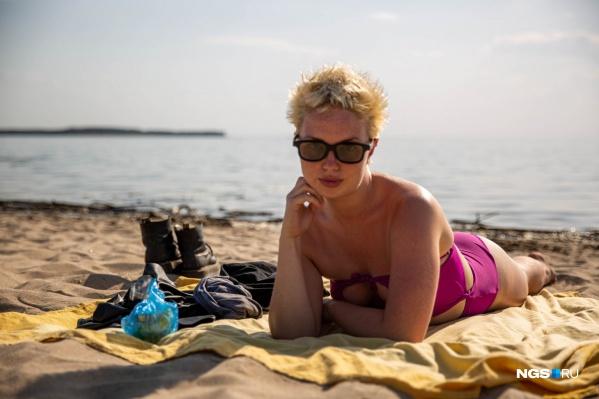 Новосибирцы уже открыли купальный сезон