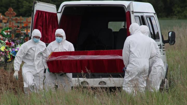 За август умерло на 500 омичей больше, чем год назад