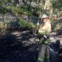 В Волгоградской области пожарные потушили угрожавший городу Суровикино пожар