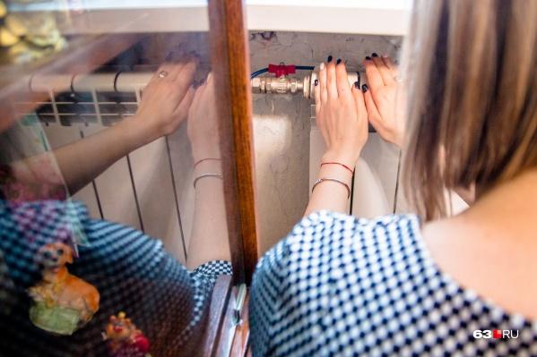 В жилые дома тепло подадут в последнюю очередь