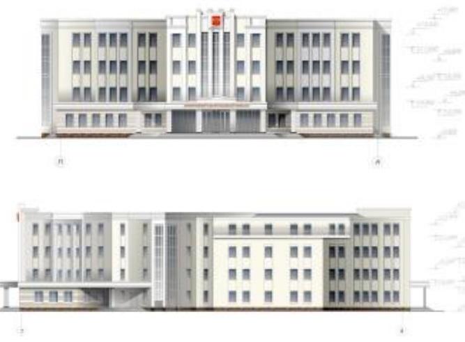 Проект будущего здания суда