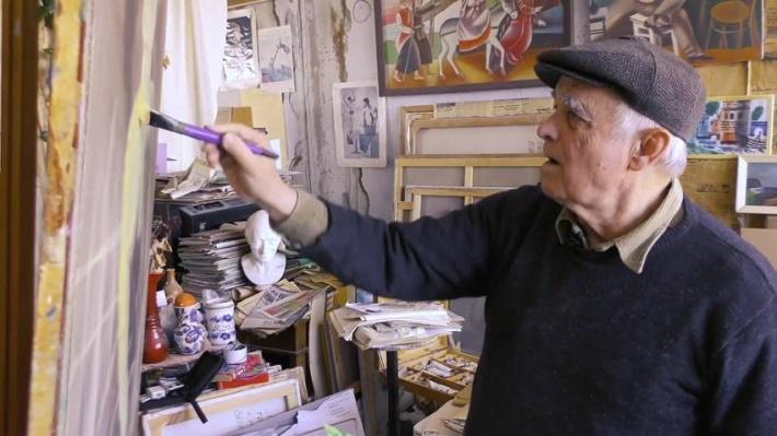 В Волгограде от двусторонней пневмонии скончался известный художник Пётр Зверховский
