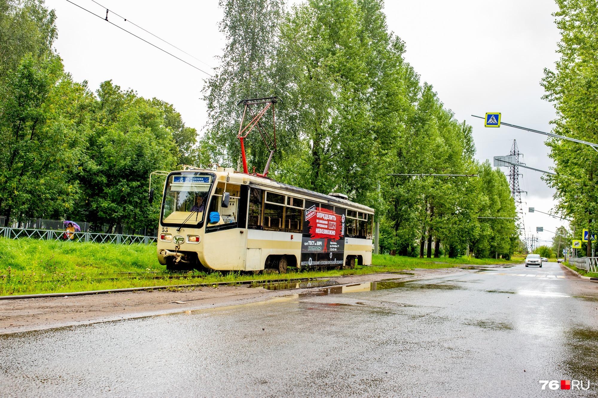 Идею продлить трамвайный маршрут № 6 обсуждают в Ярославле уже несколько лет