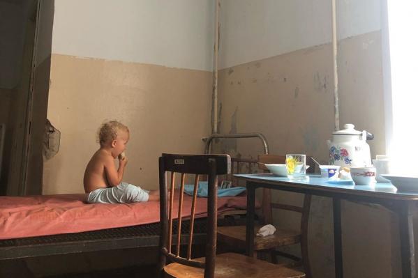 Так выглядит инфекционное отделение больницы Богдановича