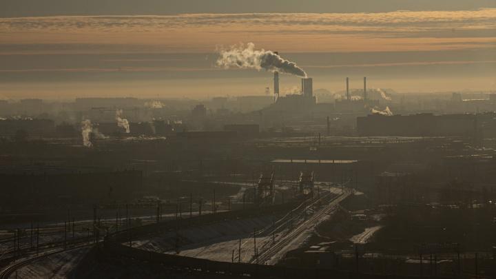 НМУ нет, а смог есть: Челябинск заволокла серая пелена