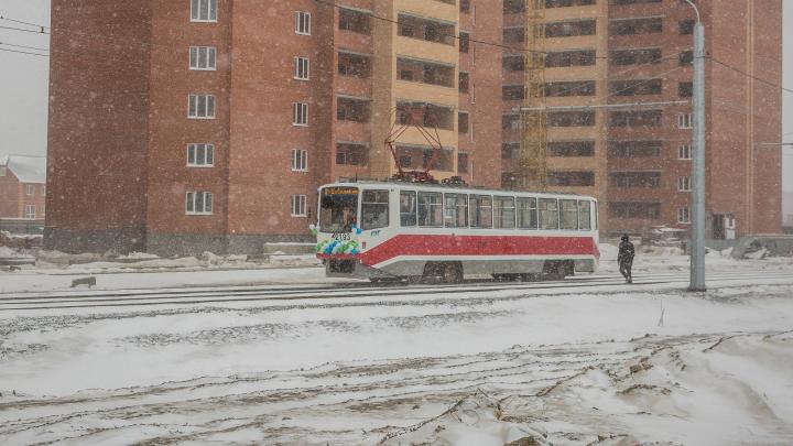 Трамвайную линию до нового автовокзала на Гусинобродском шоссе начнут строить летом