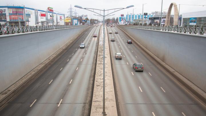 В Самаре ищут подрядчика, который всю зиму будет следить за порядком на Московском шоссе