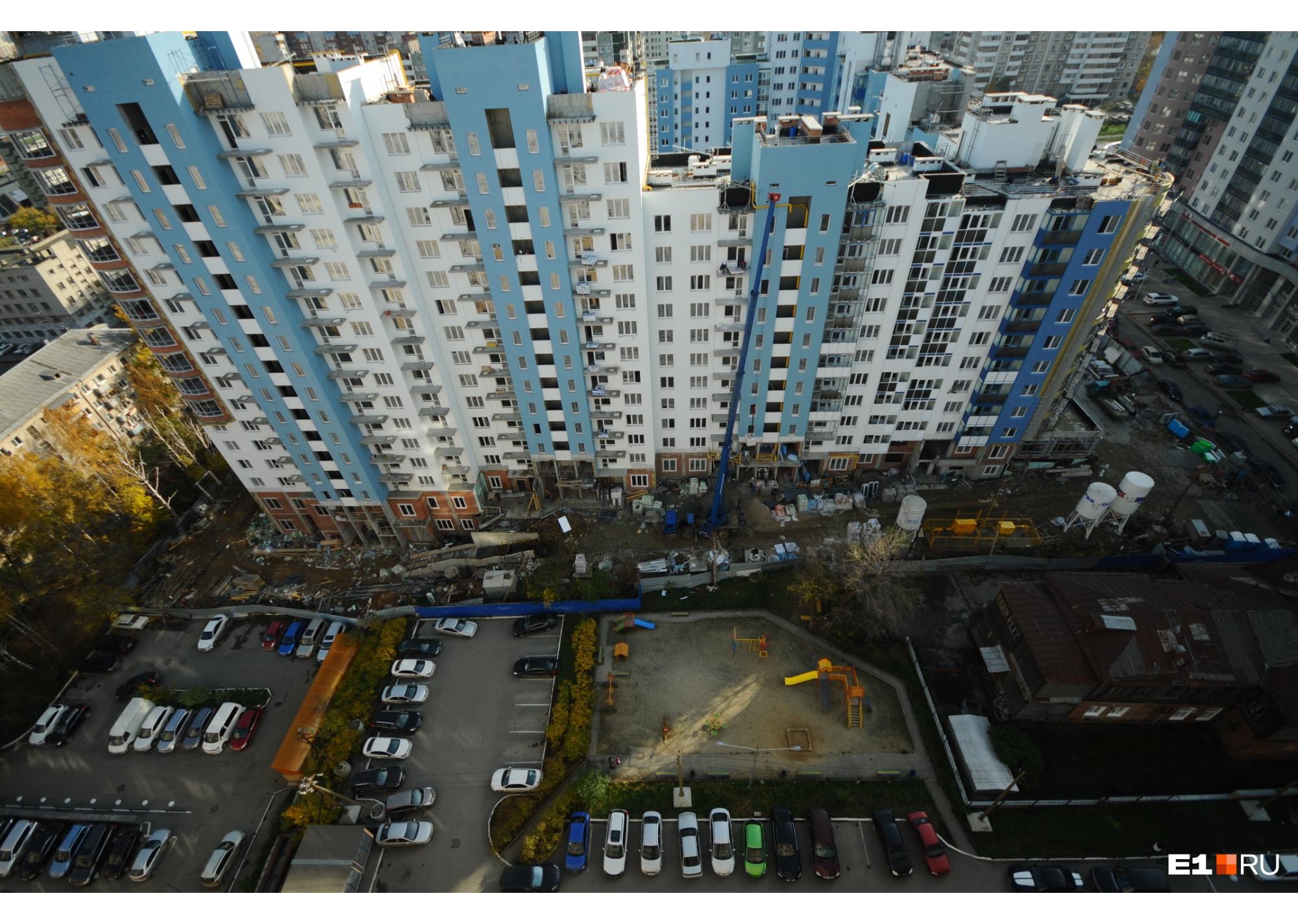 Одно из преимуществ Екатеринбурга — большой выбор среди новостроек