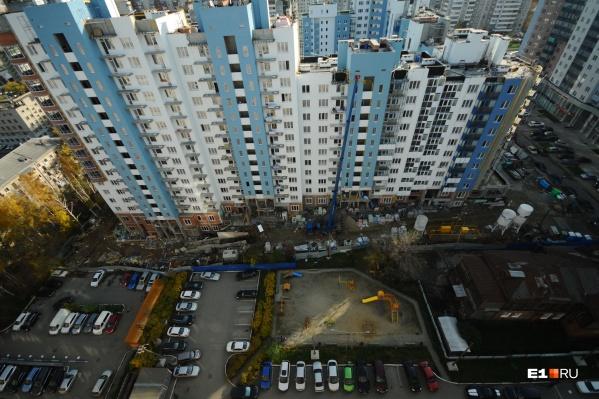 Дешевая ипотека позволила нарастить объем строительства в Свердловской области