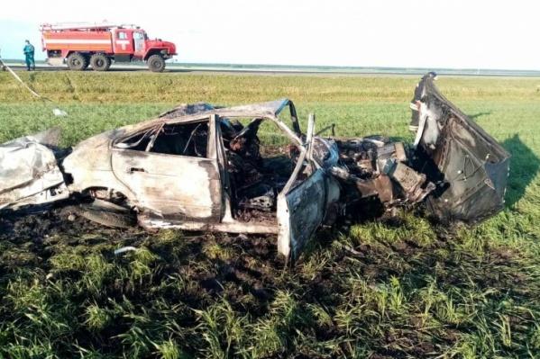 ДТП со смертельным исходом произошло в 04:40 на трассе Тюмень — Омск