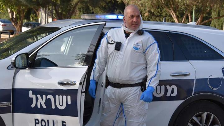 В Израиле полицейские устроили вертолётную облаву на автобус с коронавирусным пассажиром