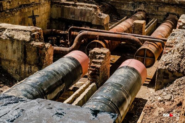 Трубы будут ремонтировать 7, 8 и 22 августа