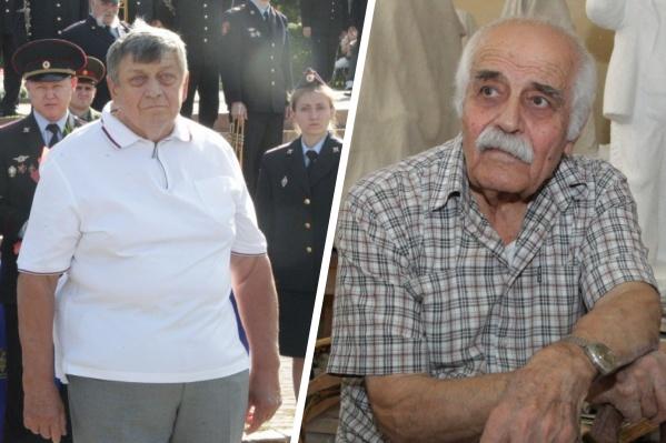 Юрий Луконин (слева) в прошлом возглавлял региональный полицейский главк, а имя Вардкеса Авакяна широко известно в мире