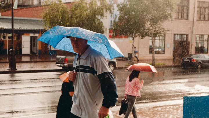 Погода будет только хуже. Синоптики предупреждают о сильном ветре и дожде в Тюменской области