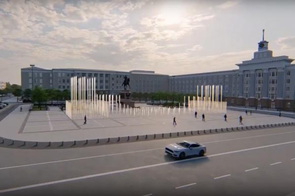 Памятник будет новой достопримечательностью города