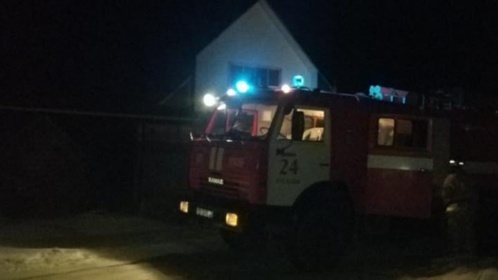 Из-за ночного пожара в Башкирии погиб трехлетний мальчик