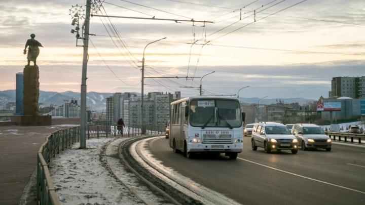 Выделенные полосы в Красноярске станут доступными для всех водителей