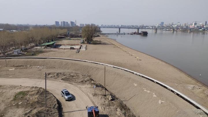 На месте городского пляжа «Наутилус» развернули строительную площадку