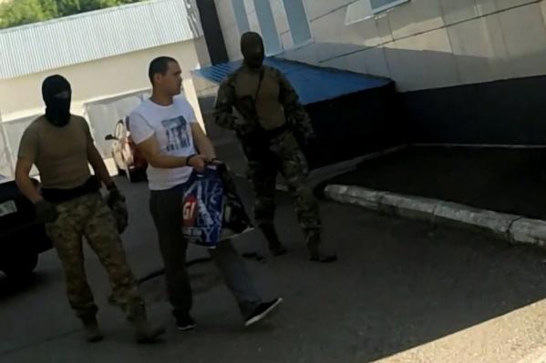 Задержанный уже дал показания