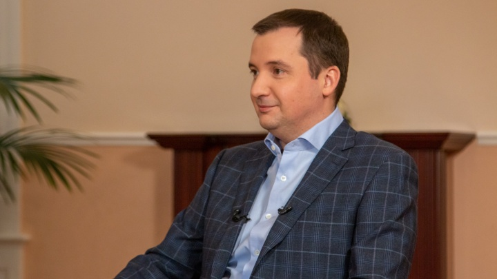 Цыбульский отвечает на вопросы: врио губернатора — в прямом эфире