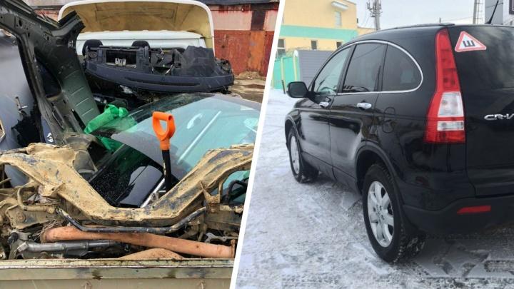 «Нашли в километре от полиции»: екатеринбуржцы — о поисках угнанной иномарки, на которую копили 5 лет