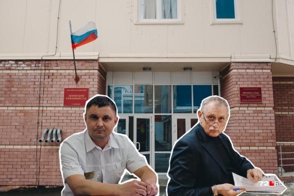 Олег Ефремов и Александр Горохов