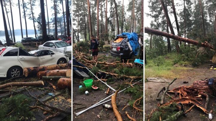 «В 01:15 подул холодный ветер, и началась мясорубка»: рассказ очевидца об урагане на Маслеево