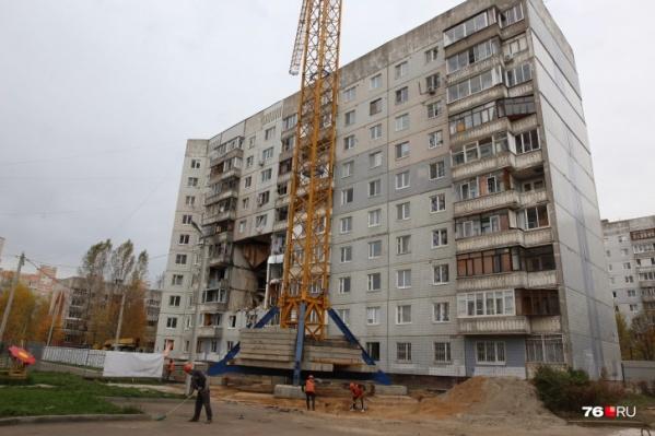 Взорвавшийся дом на Батова в Ярославле был построен в 1992 году