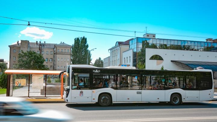 Стало известно, в каких районах Ростова меньше всего автобусов с кондиционерами