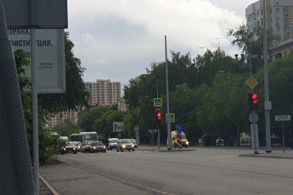 Авария с пешеходом произошла в час пик вечером 1 июня
