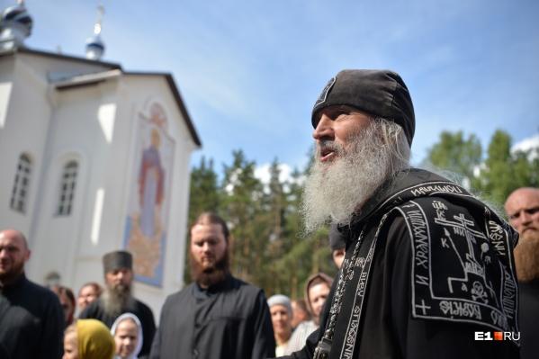 Игуменом отец Сергий стал после встречи с патриархом Алексием II